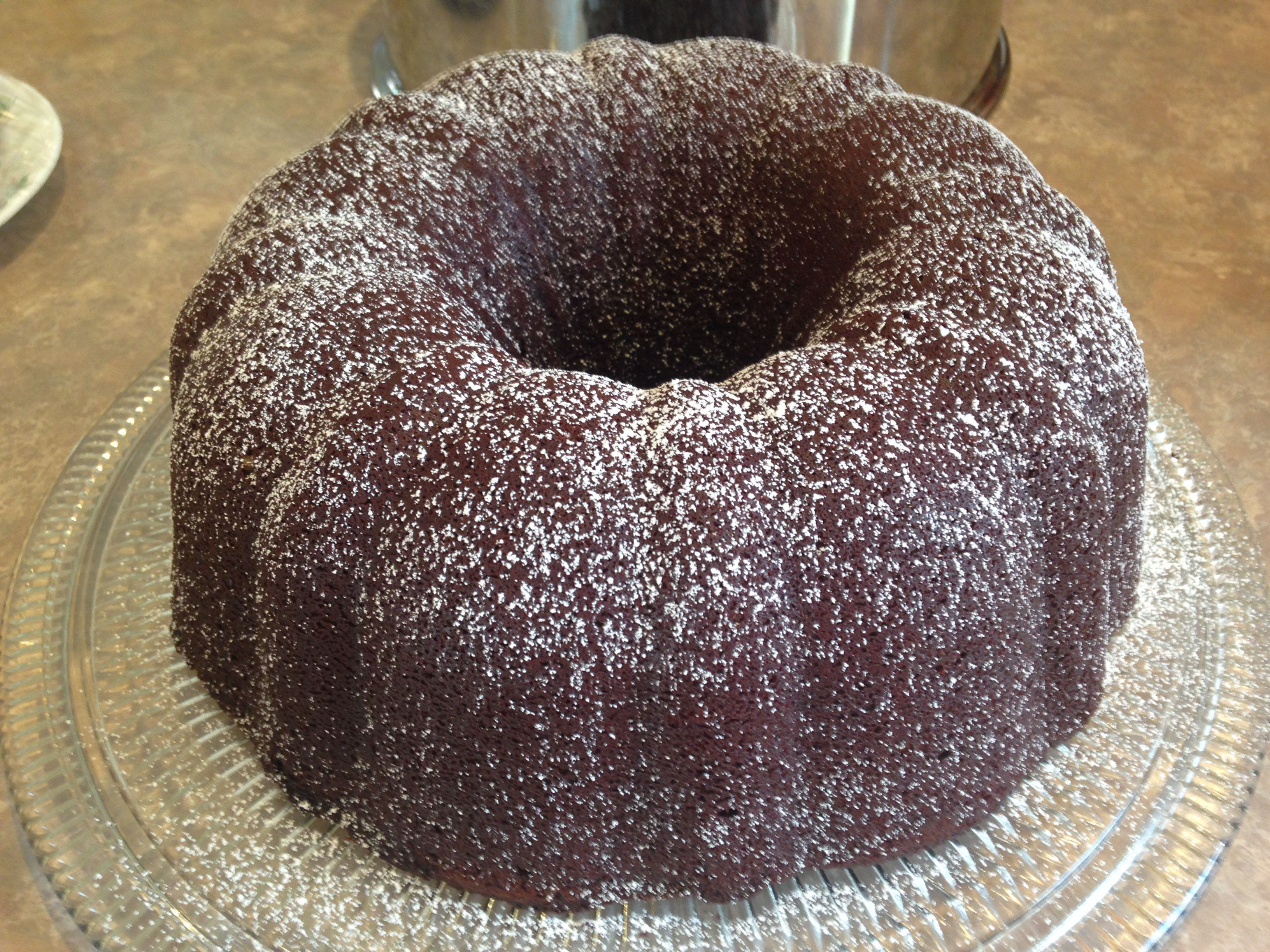 Chocolate Sour Cream Bundt Cake | Faux Chef for Five